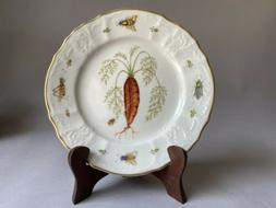 Anna Weatherley ANTIQUE VEGETABLES Salad Plate, CARROT, Mint
