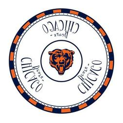 Memory Company Chicago Bears Game Day Chip and Dip Tray
