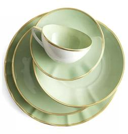 """Anna Weatherley Colors Mint Green Oval Platter 13"""" X 10"""""""