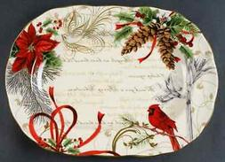 holiday wishes 14 oval serving platter 8928130