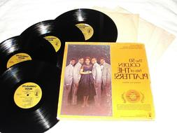 """The Platters """"The 50 Golden Hits of..."""" 1975 R&B, 4-LP Box S"""
